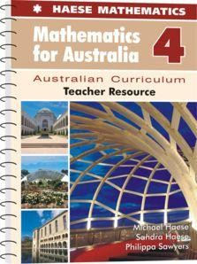 Image for Mathematics for Australia 4 Teacher Resource : Australian Curriculum