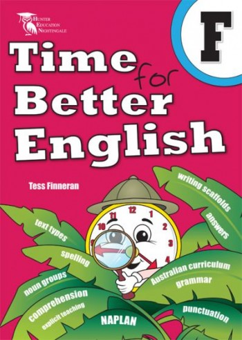 Image for Time for Better English F - Foundation / Prep