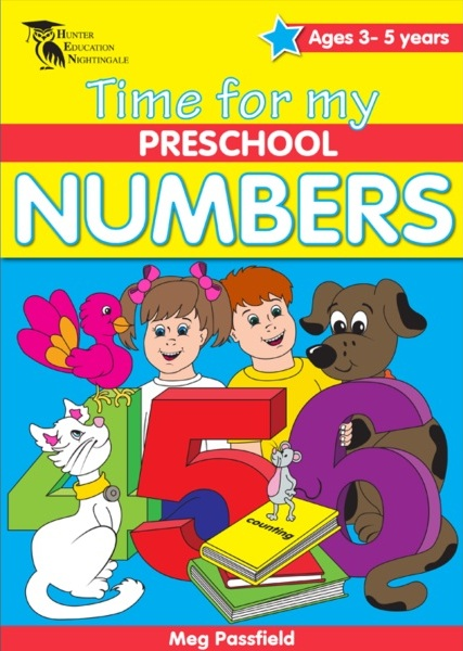 Image for Time for my Preschool Numbers (Ages 3-5 Years)