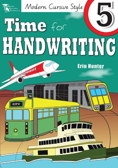 Image for Time for Handwriting 5 (Modern Cursive Style) VIC / WA / NT
