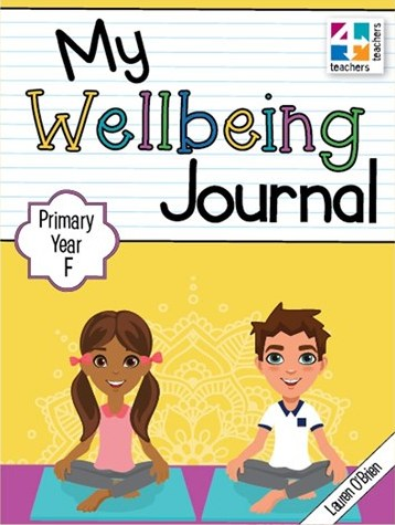Image for My Wellbeing Journal Primary Year F