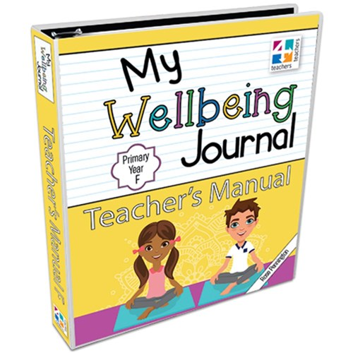 Image for My Wellbeing Journal Teacher's Manual : Primary Year F