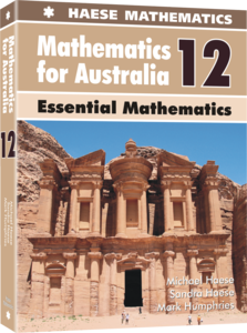 Image for Mathematics for Australia 12 Essential Mathematics Textbook
