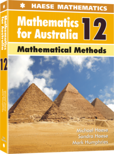 Image for Mathematics for Australia 12 Mathematical Methods Textbook
