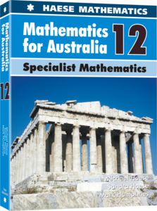 Image for Mathematics for Australia 12 Specialist Mathematics Textbook