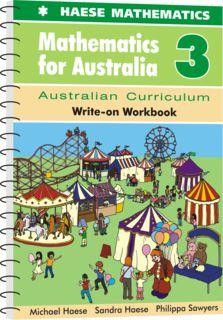 Image for Mathematics for Australia 3 Write-on Workbook : Australian Curriculum