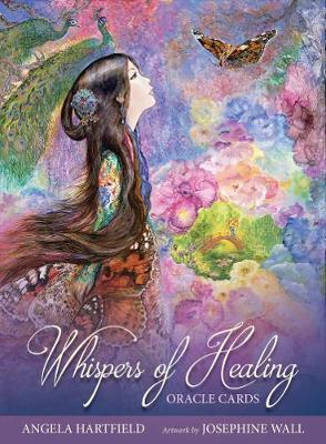 Image for Whispers of Healing Oracle Cards : 50 Cards and Guidebook