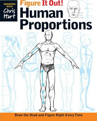 Image for Figure It Out! Human Proportions : Draw the Head and Figure Right Every Time