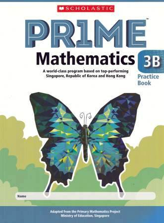 Image for Prime Mathematics 3B Practice Book [International Edition]