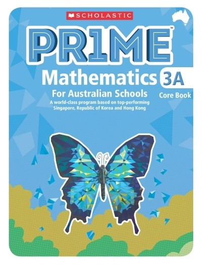 Image for Prime Mathematics 3A Core Book for Australian Schools