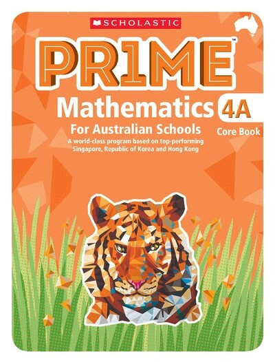 Image for Prime Mathematics 4A Core Book for Australian Schools