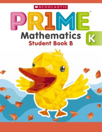 Image for Prime Mathematics Student Book B (K) Kindergarten/Prep [International Edition]