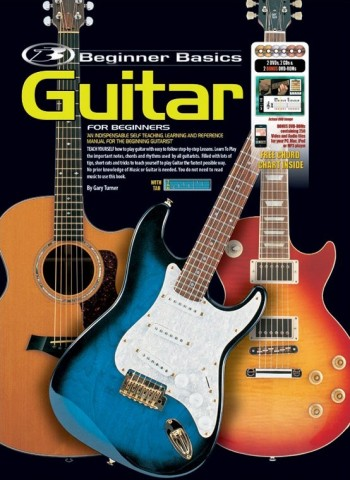 Image for Beginner Basics Guitar for Beginners Book (Includes 2CD/2DVDS/2DVD-ROMS/Chord Chart)