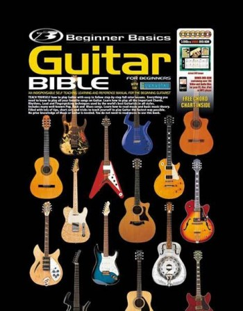Image for Beginner Basics Guitar Bible Book [Includes 6 DVDs and Free Chord Chart]