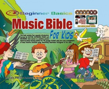 Image for Beginner Basics Music Bible for Kids Book/DVD(4)/DVD-Rom(2)