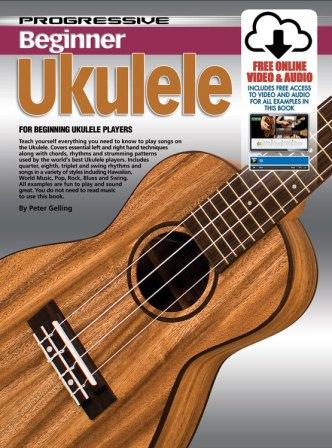 Progressive Beginner Ukulele Includes Free Online Video Audio