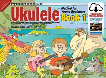 Image for Progressive Ukulele Method for Young Beginners Book 1 : Includes Free Online Video and Audio