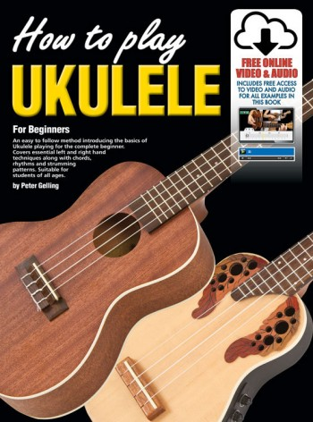 Image for How To Play Ukulele for Beginners Book with Online Video and Audio