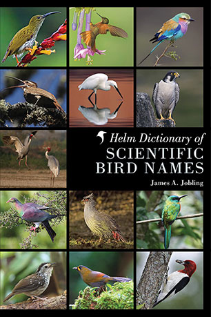 Image for Helm Dictionary of Scientific Bird Names