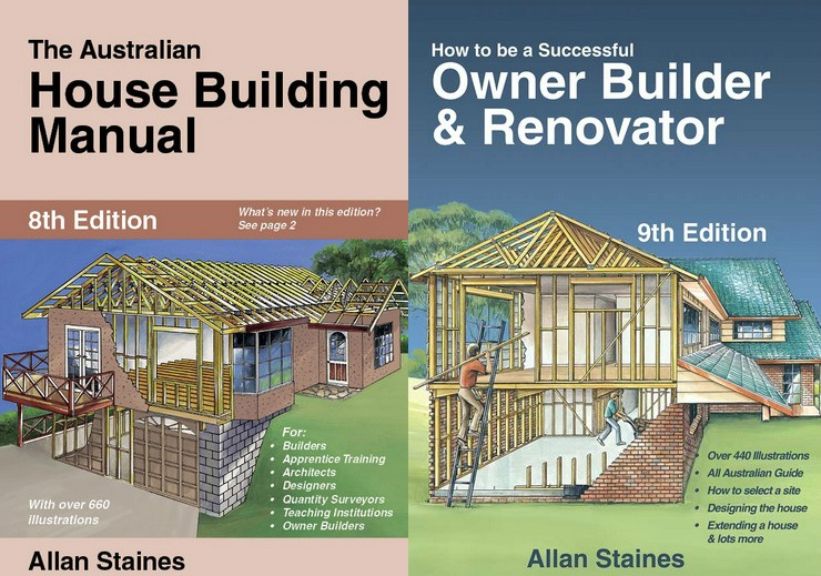 Image for 2 Book Set: The Australian House Building Manual 8th Edition + How to be a Successful Owner Builder and Renovator 9th Edition