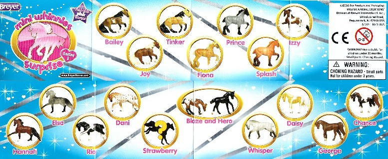 Image for Breyer Horses Mini Whinnies Surprise Series 2: Collect Them All!