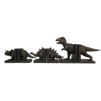 Image for Cast Iron Tyrannosaurus (T-Rex) Dinosaur Bookends