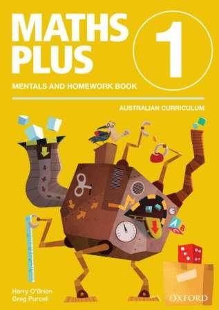 Image for Maths Plus Mentals and Homework Book 1 Australian Curriculum Edition