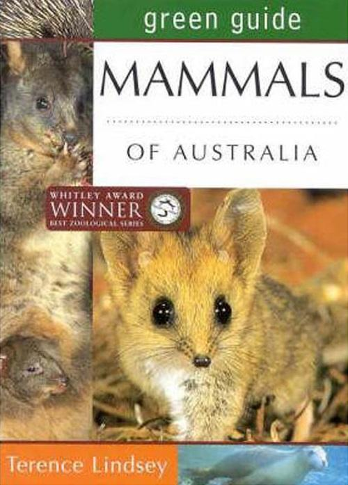 Image for Green Guide : Mammals of Australia