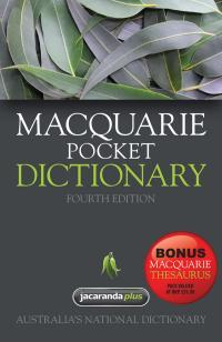 Image for Macquarie Pocket Dictionary 4th Edition + Bonus Pocket Thesaurus