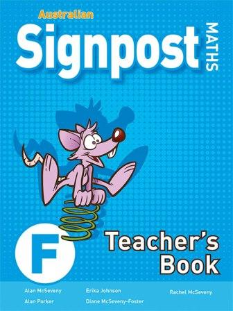 Image for Australian Signpost Maths F Teacher's Book [Third Edition]