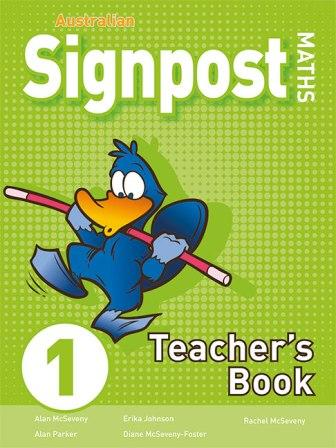 Image for Australian Signpost Maths 1 Teacher's Book [Third Edition]