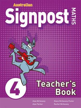 Image for Australian Signpost Maths 4 Teacher's Book [Third Edition]