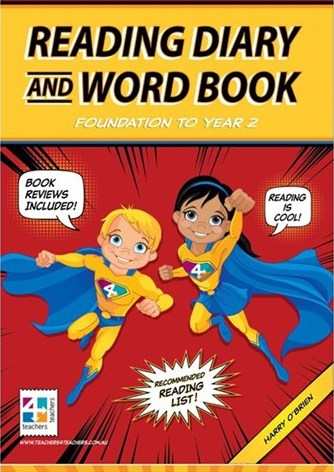 Image for Reading Diary and Word Book Years F-2 Foundation to Year 2