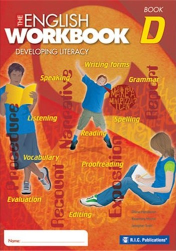 Image for The English Workbook D Student Book Developing Literacy RIC-6279