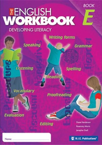 Image for The English Workbook E Student Book Developing Literacy RIC-6280