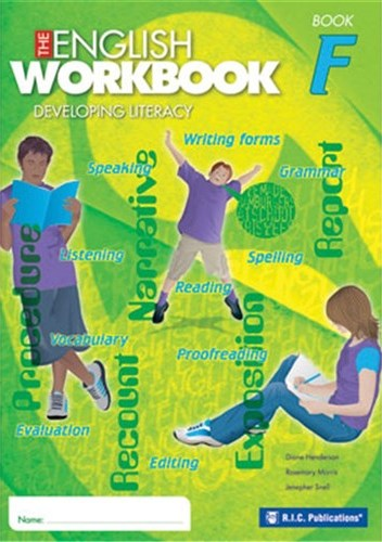 Image for The English Workbook F Student Book Developing Literacy RIC-6281