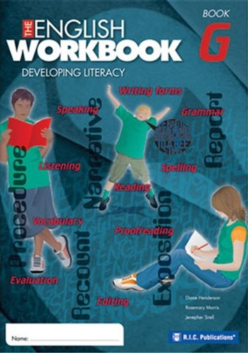 Image for The English Workbook G Student Book Developing Literacy RIC-6282