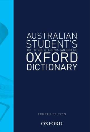 Image for Australian Student's Oxford Dictionary [Fourth Edition] (Australian Student's Colour Oxford Dictionary)