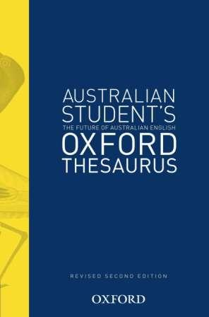 Image for Australian Student's Oxford Thesaurus [Revised Second Edition] (Australian Student's Colour Oxford Thesaurus)