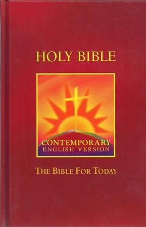 Image for CEV Bible For Today - Burgundy - CEB053BG Hardcover *** TEMPORARILY OUT OF STOCK ***