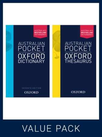 Image for Australian Pocket Oxford Dictionary 7E + Australian Pocket Oxford Thesaurus Pack