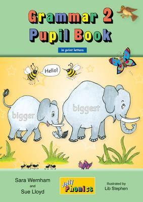 Image for Grammar 2 Pupil Book JL929 in Print Letters # Jolly Phonics