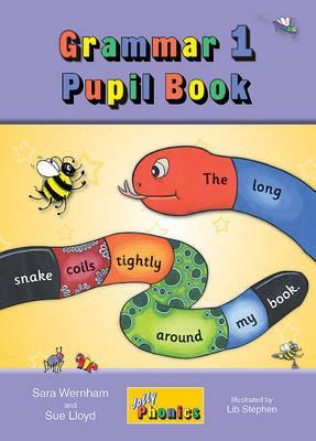 Image for Grammar 1 Pupil Book JL620 in Precursive Letters # Jolly Phonics