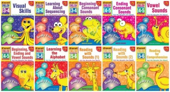 Image for Excel Early Skills : English : Books 1-10 Value Pack (Ages 3-6) 10 Books