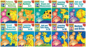 Image for Excel Early Skills : Maths : Books 1-10 Value Pack (Ages 3-6) 10 Books