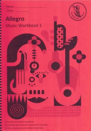 Image for Kookaburra Music Allegro Year 1 Music Workbook