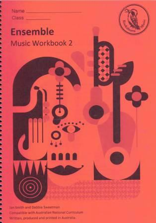 Image for Kookaburra Music Ensemble Year 2 Music Workbook