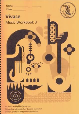 Image for Kookaburra Music Vivace Year 3 Music Workbook