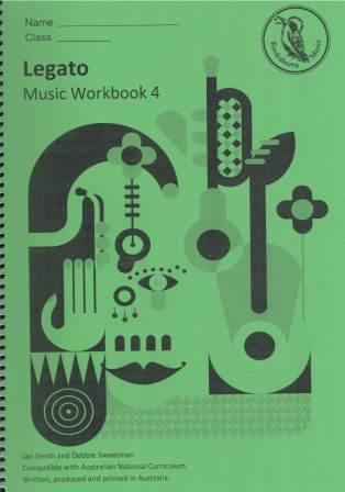 Image for Kookaburra Music Legato Year 4 Music Workbook