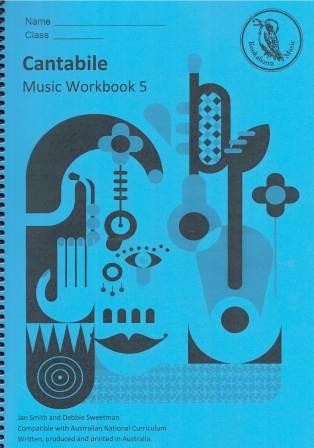 Image for Kookaburra Music Cantabile Year 5 Music Workbook